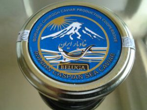 صادرات خاویار دریای خزر